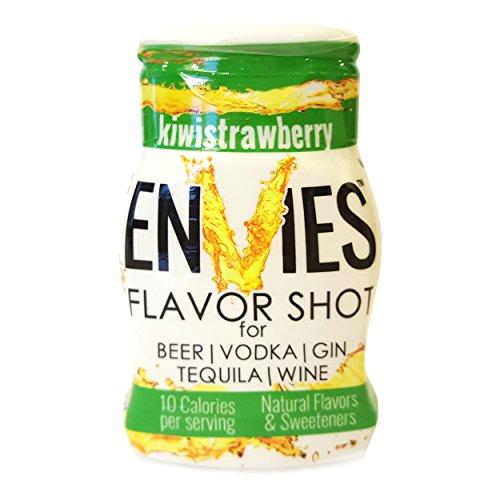 Envies Flavor Shot KiwiStrawberry Squeeze Mini Bottle Cocktail Mixer