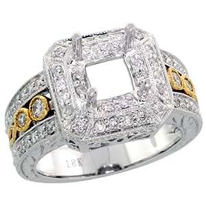 Gabriella Gold - Anillo de oro con diamante