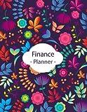 img - for Finance Planner: Budget Planner, Debt Payment Tracker, Monthly Budget Plan, Bill Payment Tracker, Expense Tracker, Savings Tracker, Finance Calendar, Debit Credit Money Plan book / textbook / text book