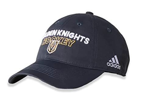 8b1baf40b1e Image Unavailable. Image not available for. Color  adidas Las Vegas Golden  Knights Adjustable Slouch Hat