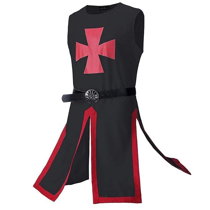 Amazon com: KoKoHouse Men's Medieval Templar Knight Crusader
