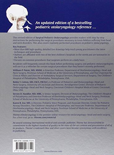 Surgical Pediatric Otolaryngology
