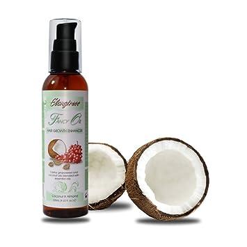 Elongtress Aceite de lujo - crecimiento del pelo Enhancer (Coconut & Almond)