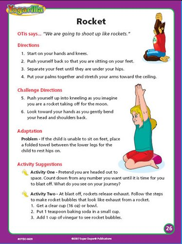 Super Duper Publications Yogarilla Exercises and Activities - Yoga Flash Card Deck Educational Learning Resource for Children by Super Duper Publications (Image #7)