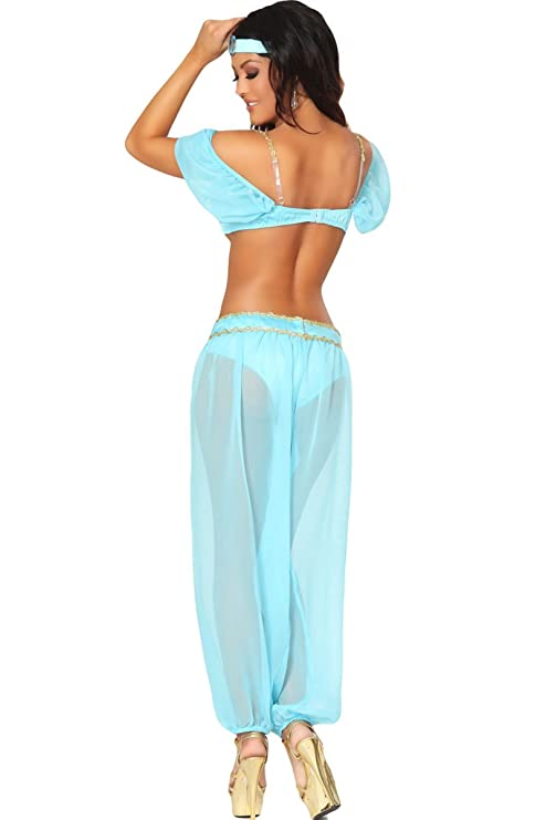 Amazon.com 3WISHES u0027Arabian Princess Costumeu0027 Sexy Fairy Tale Costumes 3WISHES Clothing  sc 1 st  Amazon.com & Amazon.com: 3WISHES u0027Arabian Princess Costumeu0027 Sexy Fairy Tale ...
