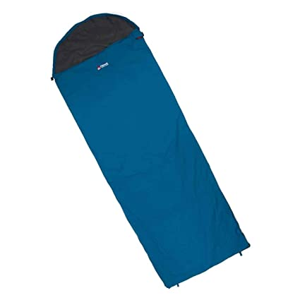 more photos 750f6 c2dd5 Chinook, ThermoPalm Hooded Rectangle Sleeping Bag, Blue ...