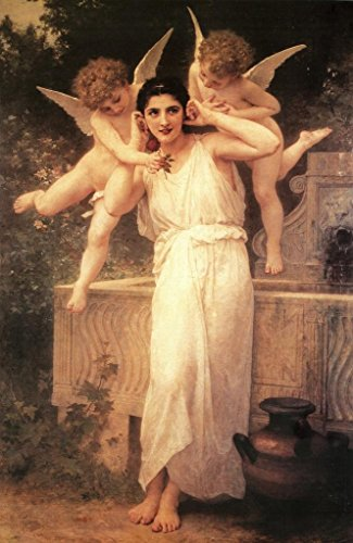 William Adolphe Bouguereau L Innocence Fine Art Mural Giant Poster 36x54 inch (Cherub Wallpaper)