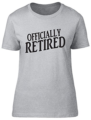 Shopagift - Camiseta - para mujer gris