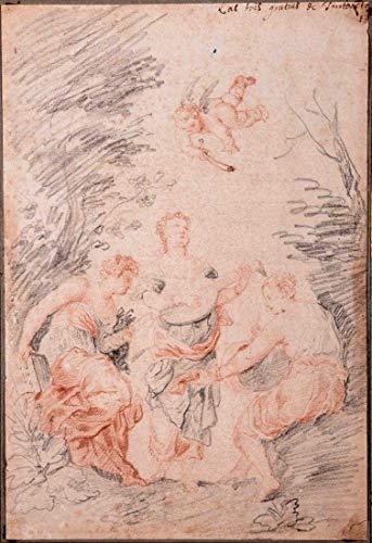 Art Master Collection Possible Jean-Honor FRAGONARD (1732-1806)