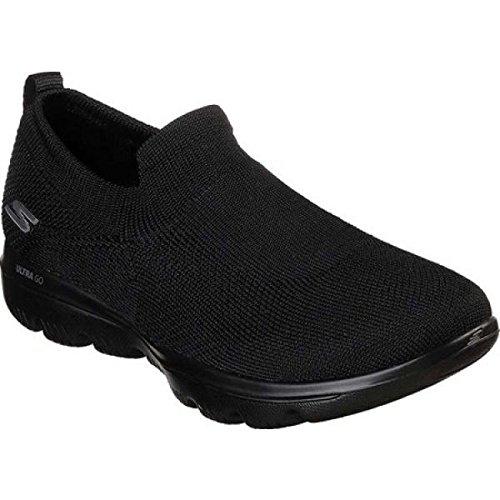 独特の救出規制する(スケッチャーズ) Skechers レディース ランニング?ウォーキング シューズ?靴 GOwalk Evolution Ultra Slip-On Walking Shoe [並行輸入品]
