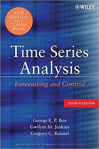 com time series analysis forecasting and control  com time series analysis forecasting and control 9780470272848 george e p box gwilym m jenkins gregory c reinsel books