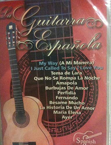 La guitarra española vol.4 My Way, amapola, perfidia, fernando etc ...