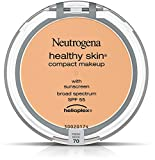 Neutrogena Healthy Skin Compact Makeup SPF 55, Fresh Beige [70], 0.35 oz (9 Pack)