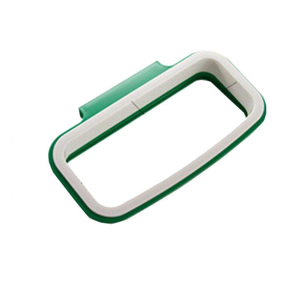 caolator strumento cucina supporto da parete per sacchi spazzatura/Casa Armadio Supporto per sacchetto Pattumiera–Rastrelliera di impiccagione in plastica/porte-sacs Pattumiera