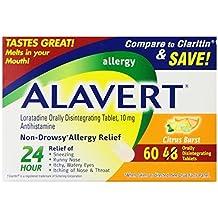 Alavert Loratadine Allergy Orally Disintegrating Tablets Citrus Burst (180 Orally Disintegrating Tablets) by Alavert