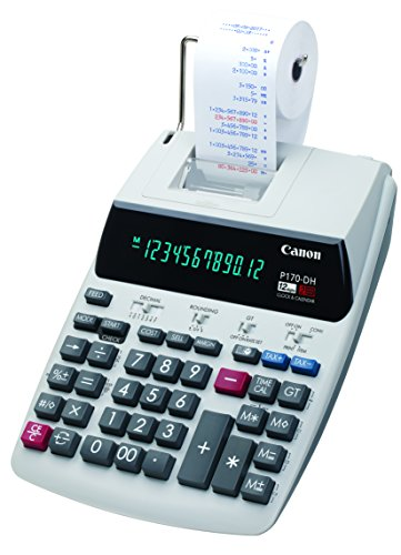 Canon Office Products Canon P170-DH-3 Calculator Clock Time Calculation