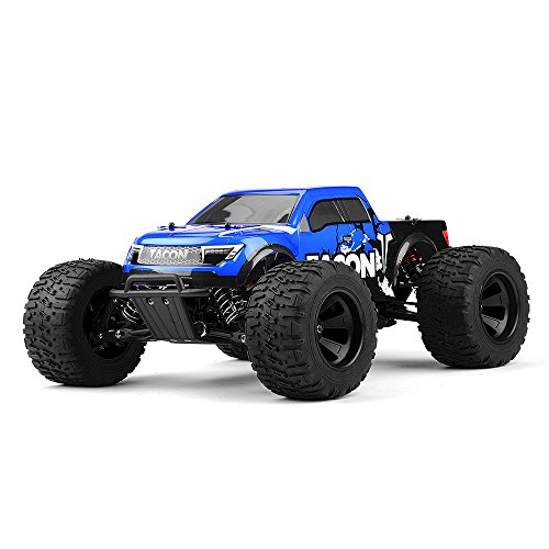 1/14 Tacon Valor Monster Truck Brushless Ready to Run 2.4ghz (Blue) RC Remote Control Radio Car