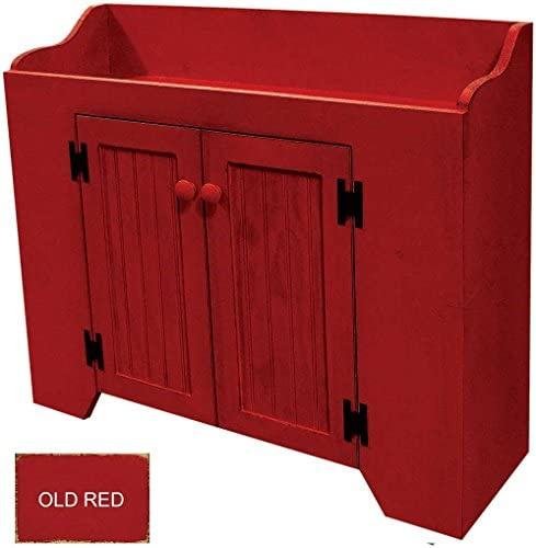 Sawdust City Dry Sink 32 Wide Old Red