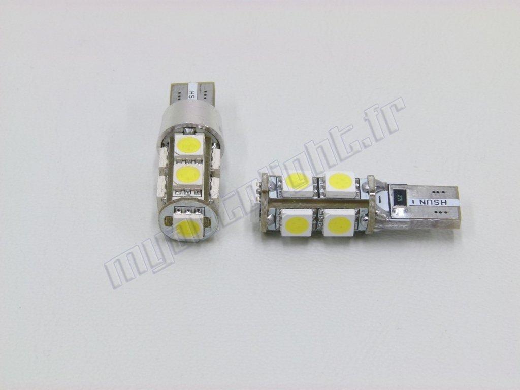 Ampoules Feux de position LED Citroen C3 Picasso W5W blanc X/énon