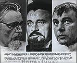 1972 Press Photo Richard Burton in Bluebeard and The Assassination of Trotsky