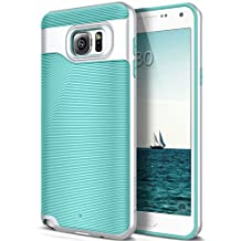 Galaxy Note 5 Case, Caseology [Wavelength Series] Slim Dual Layer Protection Textured Grip Protective Cover [Mint Green] for Samsung Galaxy Note 5