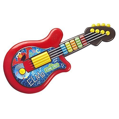 Playskool Sesame Street Elmo Guitar Toy CustomerPackageType: Frustration-Free Packaging, Model: A4261F01, Toys & Play