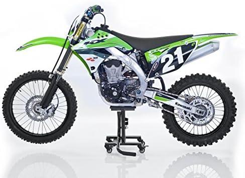 Constands Motocross Ständer Suzuki Dr 125 Sm 350 S Se Dr Z 400 S Sm Rm 125 Mit Rollen Mover Enduro Supermoto Trial Schwarz Auto