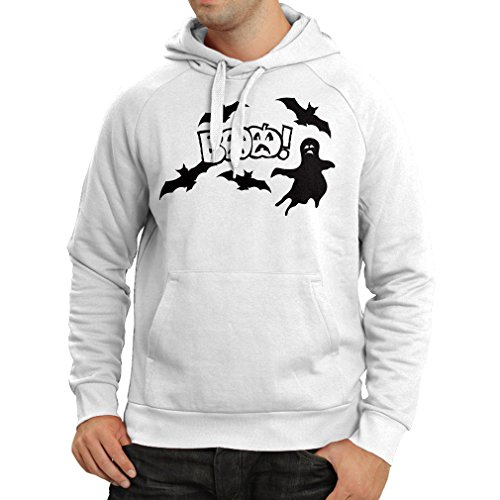 (Hoodie BAAA! - Funny Halloween Costume Ideas, Cool Party Outfits (XX-Large White Multi)
