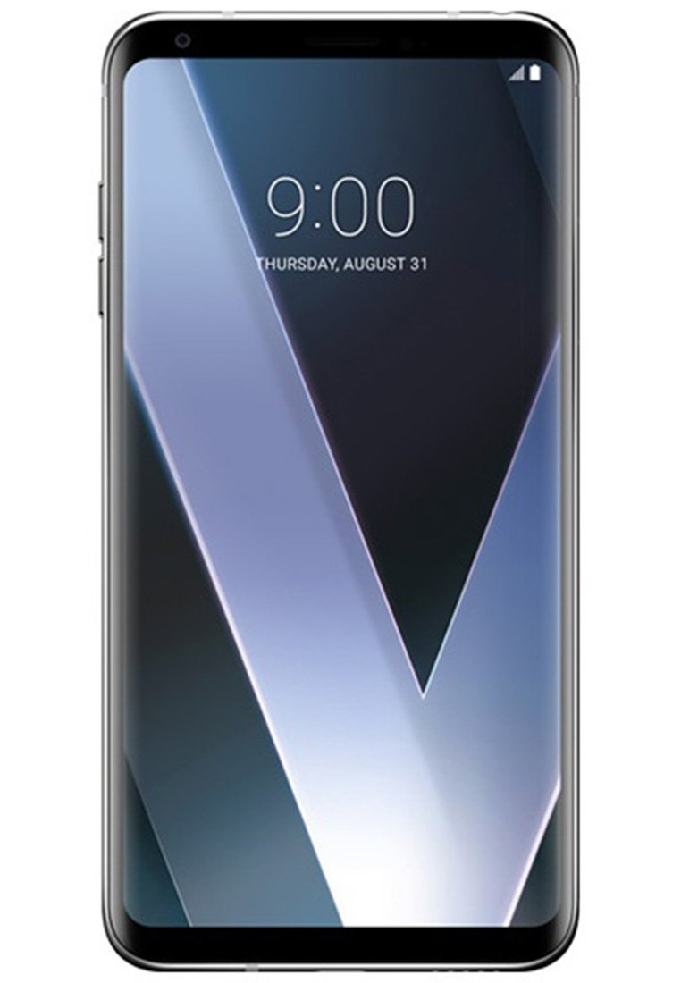 LG V30+ H930DS 128GB/4GB Dual Sim Factory Unlocked GSM Smartphone - International Version - No Warranty in the US (Silver)