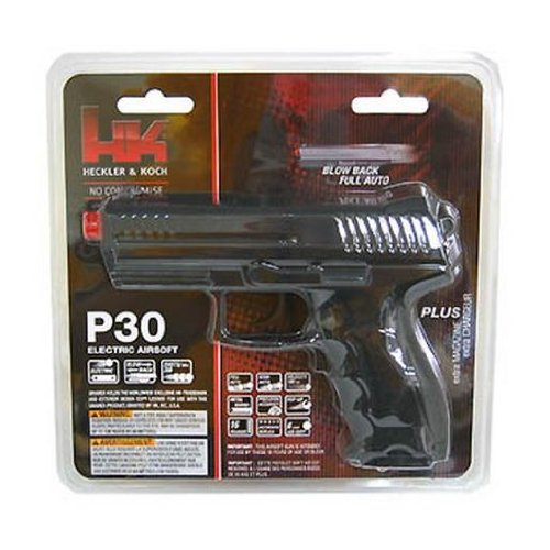 electronic airsoft pistol - 1