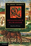The Cambridge Companion to Renaissance Humanism by Jill Kraye front cover