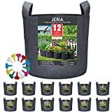 JERIA 12-Pack 3 Gallon, Vegetable/Flower/Plant Grow