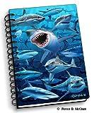 Sharks - 4' x 6' 3D Notebook