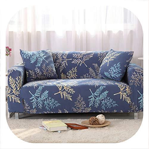 Memoirs- Universal Sofa Cover Printed Couch Cover Polyester Bench Covers Elastic Stretchy Furniture Slipcovers Home Living Room,Color 18,2pcs 45x45cm (Furniture Ebay Wicker Cheap)