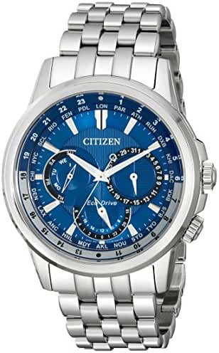 Citizen Eco-Drive Men's BU2021-51L Calendrier Stainless Steel Watch