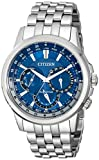 Image of Citizen Eco-Drive Men's BU2021-51L Calendrier Stainless Steel Watch