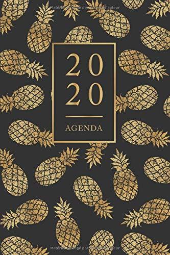 Amazon.com: Agenda: Semainier - Petit Format A5 - Ananas Or ...