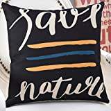 More colors American country-style pillow PP cotton back cushion sofa bedside linen Hug pillowcase -A 45x45cm(18x18inch)VersionB