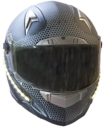 LightRider™ 360° High Lumen LED Motorcycle Helmet Light with 'Power-Protected' Battery Pack