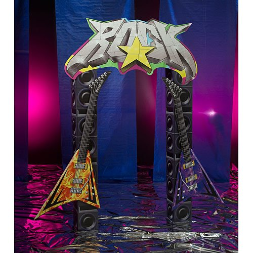 Rock Star Standee Party Prop ()