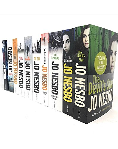 Read Online Jo Nesbo A Harry Hole Mystery 10 Books Collection Pack Set pdf