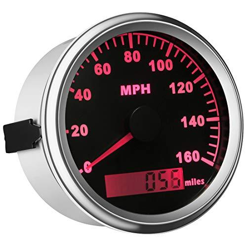 Samdo 85mm GPS Speedometer Gauge Universal Odometer 160MPH for ATV UTV Motorcycle Marine Boat