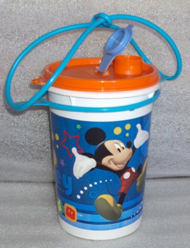 (Tupperware Mega Tumbler with Handle, Disney Mickey Mouse Design)