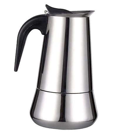 Homie Estufa de Acero Inoxidable Cafetera exprés Moka ...