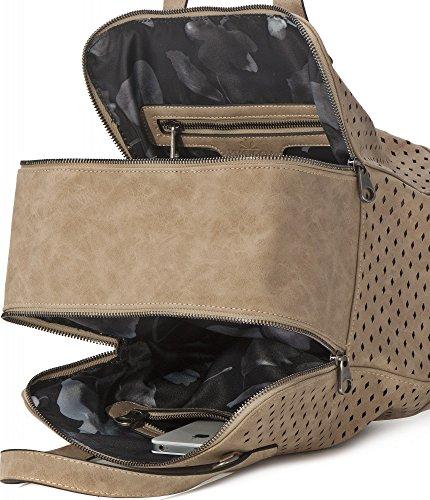 x x 5 coral Handle 21 x W D H red 29 Top Women's 15 BLOOM Bag Handbag cm Foggy Bowling x Bag MIYA WPxOZpAz