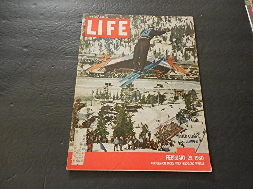 Life Feb 29 1960 The Thrill Of Victory And The Agony Of Defeat