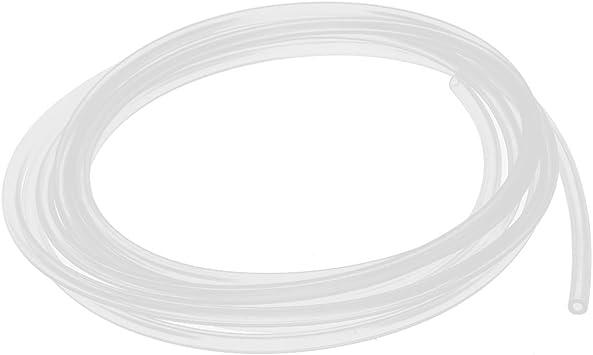 Sourcingmap 2mm X 4mm Silikon Lebensmittel Qualität Rohr Bier Wasser Luftschlauch Rohr 3 Meter Baumarkt