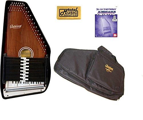 "Oscar Schmidt Berkshire"" 15 Chord Autoharp, Maple Body, S..."