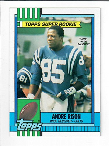 1990 Topps Super Rookie Football Card #300 Andre Rison.#49029.4