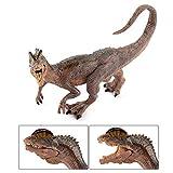 Fantarea Dinosaur World Simulated Figures Action Collection Model Kid Toys (Dilophosaurus)